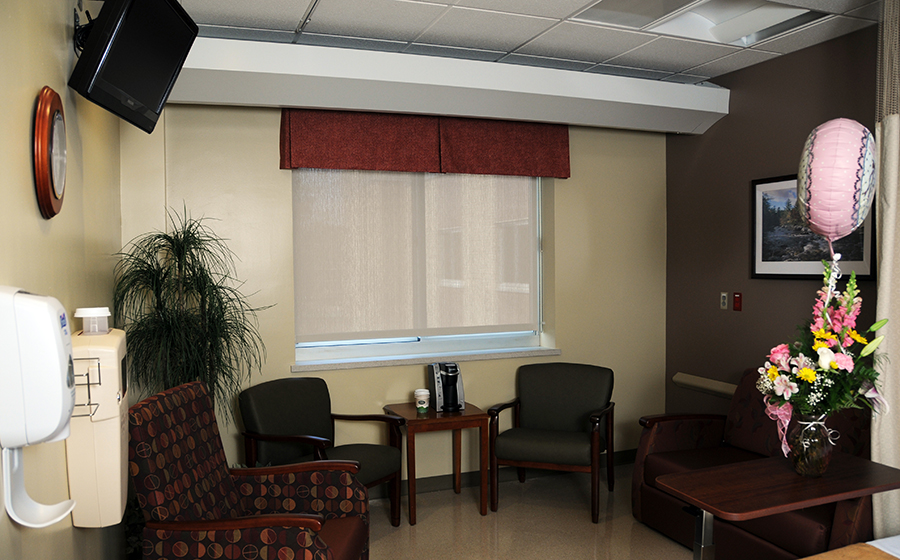 Mercy Hospital of Buffalo Patient Room