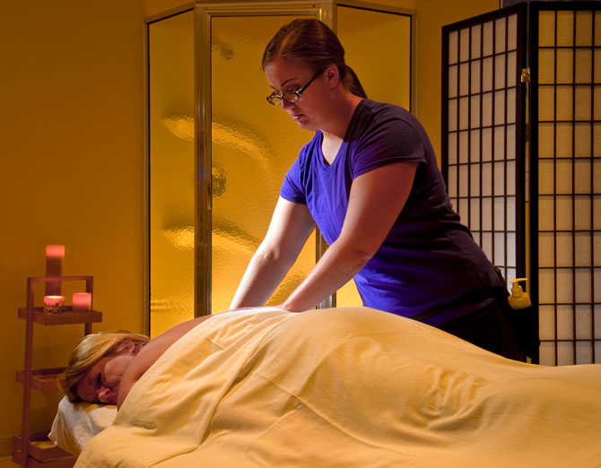 Massage Therapy at Sisters Hospital