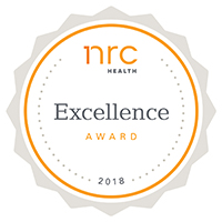 NRC's 2018 National Excellence Award for Patient Satisfaction