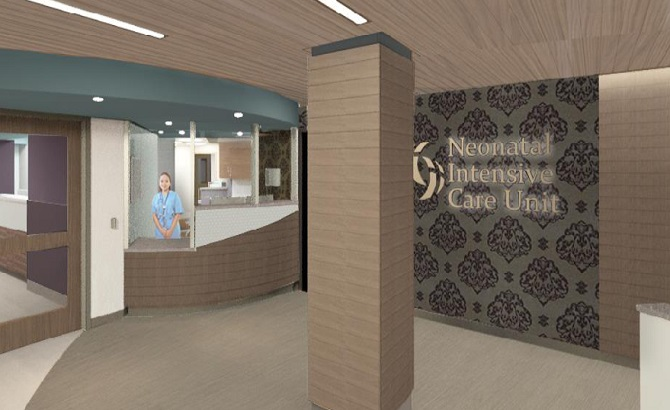 NICU Reception Area
